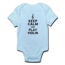 Keep Calm Violin Infant Bodysuit