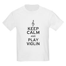 Keep Calm Violin T-Shirt