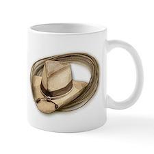 Western Cowboy Hat, Rope Mug