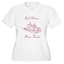 Pink Truck Diver T-Shirt