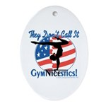 GymNICEstics Oval Ornament