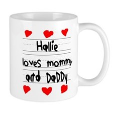 Hallie Loves Mommy and Daddy Mug