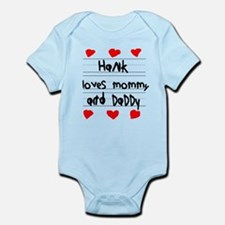 Hank Loves Mommy and Daddy Infant Bodysuit