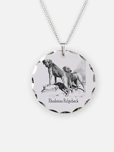 Rhodesian Ridgeback Vintage Necklace
