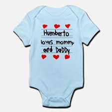 Humberto Loves Mommy and Daddy Infant Bodysuit