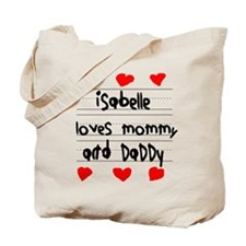 Isabelle Loves Mommy and Daddy Tote Bag