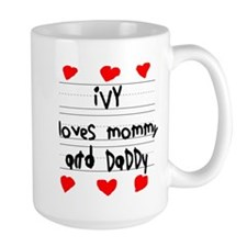 Ivy Loves Mommy and Daddy Mug