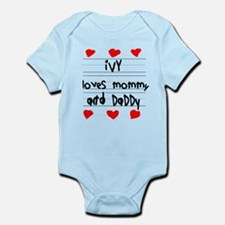 Ivy Loves Mommy and Daddy Infant Bodysuit