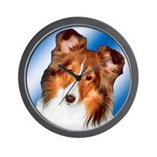 Sheltie Gifts Wall Clock