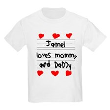 Jamel Loves Mommy and Daddy T-Shirt