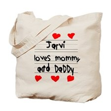 Jarvi Loves Mommy and Daddy Tote Bag