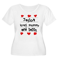 Jayson Loves Mommy and Daddy T-Shirt