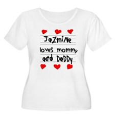 Jazmine Loves Mommy and Daddy T-Shirt