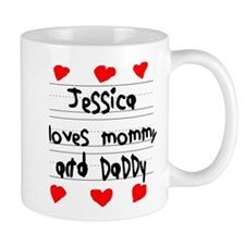 Jessica Loves Mommy and Daddy Mug