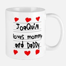 Joaquin Loves Mommy and Daddy Mug