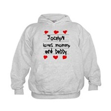 Jocelyn Loves Mommy and Daddy Hoodie