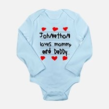 Johnathon Loves Mommy and Daddy Long Sleeve Infant