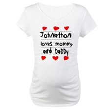 Johnathon Loves Mommy and Daddy Shirt
