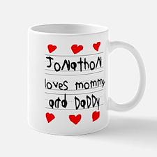 Jonathon Loves Mommy and Daddy Mug