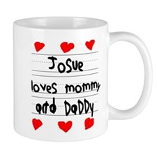 Josue Loves Mommy and Daddy Small Mug