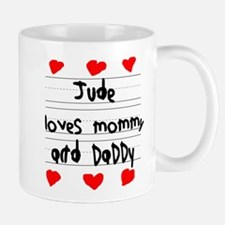 Jude Loves Mommy and Daddy Mug