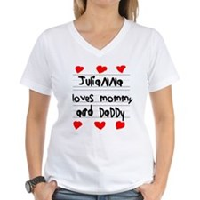 Julianna Loves Mommy and Daddy Shirt