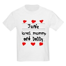 Junie Loves Mommy and Daddy T-Shirt