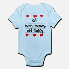 Kai Loves Mommy and Daddy Infant Bodysuit