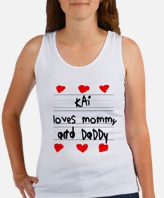 Kai Loves Mommy and Daddy Women's Tank Top