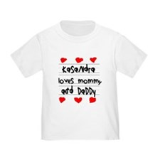 Kasandra Loves Mommy and Daddy T