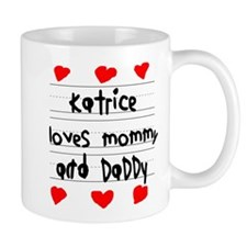 Katrice Loves Mommy and Daddy Mug