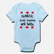 Kendrick Loves Mommy and Daddy Infant Bodysuit