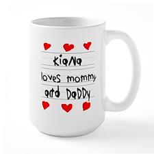 Kiana Loves Mommy and Daddy Mug