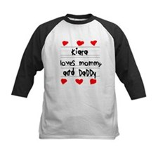 Kiara Loves Mommy and Daddy Tee