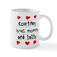 Kourtney Loves Mommy and Daddy Mug