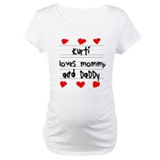 Kurti Loves Mommy and Daddy Shirt