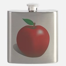 Red Apple Fruit Flask