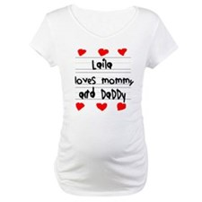 Laila Loves Mommy and Daddy Shirt