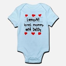 Lamont Loves Mommy and Daddy Onesie