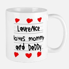Laurence Loves Mommy and Daddy Mug