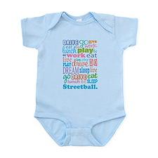 Streetball Infant Bodysuit