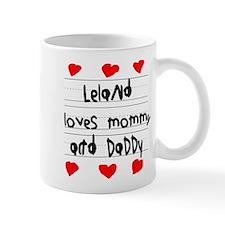 Leland Loves Mommy and Daddy Mug
