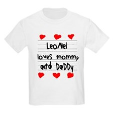 Leonel Loves Mommy and Daddy T-Shirt