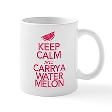 Keep Calm Carry a Watermelon Mug