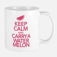 Keep Calm Carry a Watermelon Mug