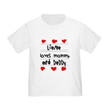 Liana Loves Mommy and Daddy T