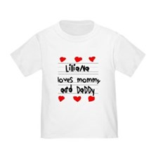 Lilliana Loves Mommy and Daddy T