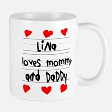 Lina Loves Mommy and Daddy Mug