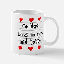 Caridad Loves Mommy and Daddy Mug