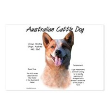 ACD (red speckle) Postcards (Package of 8)
